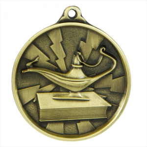 1070-KNOW-G Academic Medal 50mm
