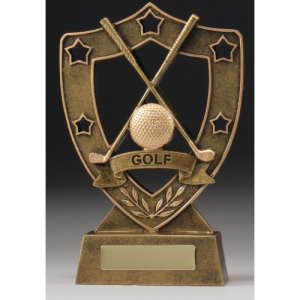 13517 Golf Trophy 130mm