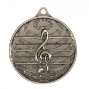 1073-44S Music Medal 50mm
