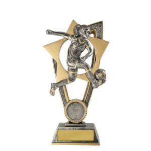 10A-FIN9F Soccer Trophy 175mm