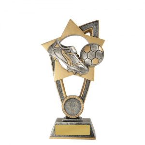 10A-FIN9G Soccer Trophy 175mm