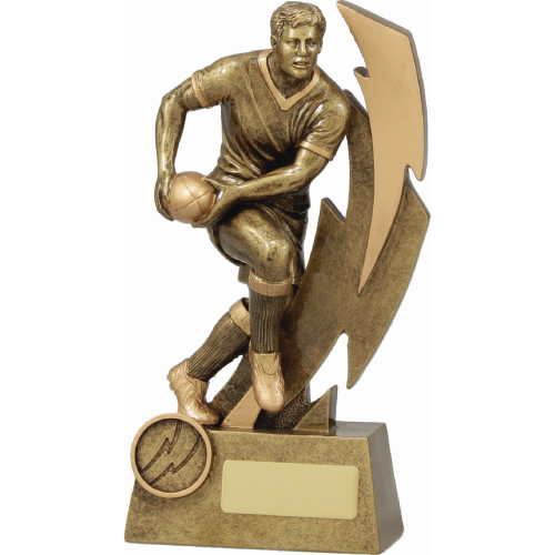 11613C Rugby Trophy 200mm
