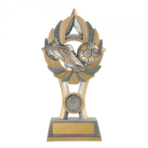 11A-FIN9G Soccer Trophy 175mm