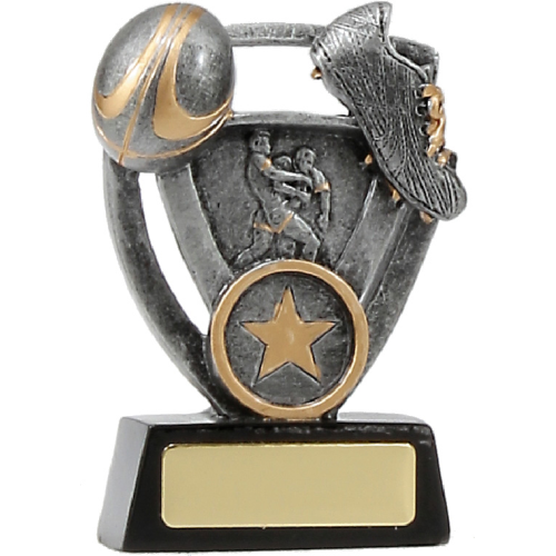 12739S Rugby Trophy 110mm