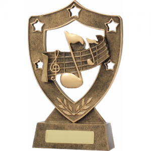 13721 Music Trophy 210mm