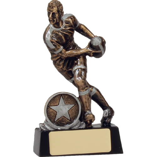 14113A Rugby Trophy 130mm