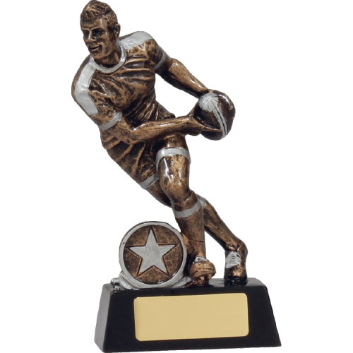 14113B Rugby Trophy 160mm