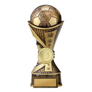222-9BRA Soccer Trophy 150mm