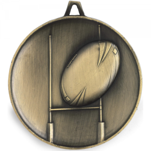 M9313 Rugby Medal 67mm