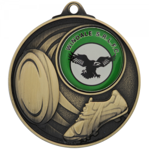 MC913G Rugby Medal