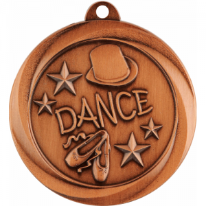 ME932B Dance Medal 50mm