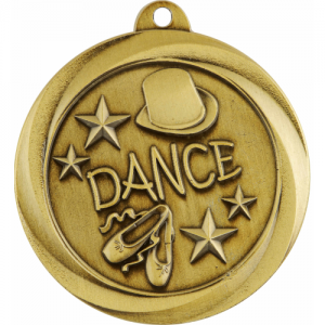 ME932G Dance Medal 50mm