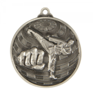 1073-11S Martial Arts Medal 50mm